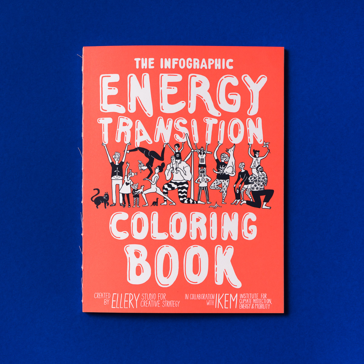 The Infographic Energy Transition Coloring Book (2nd edition)