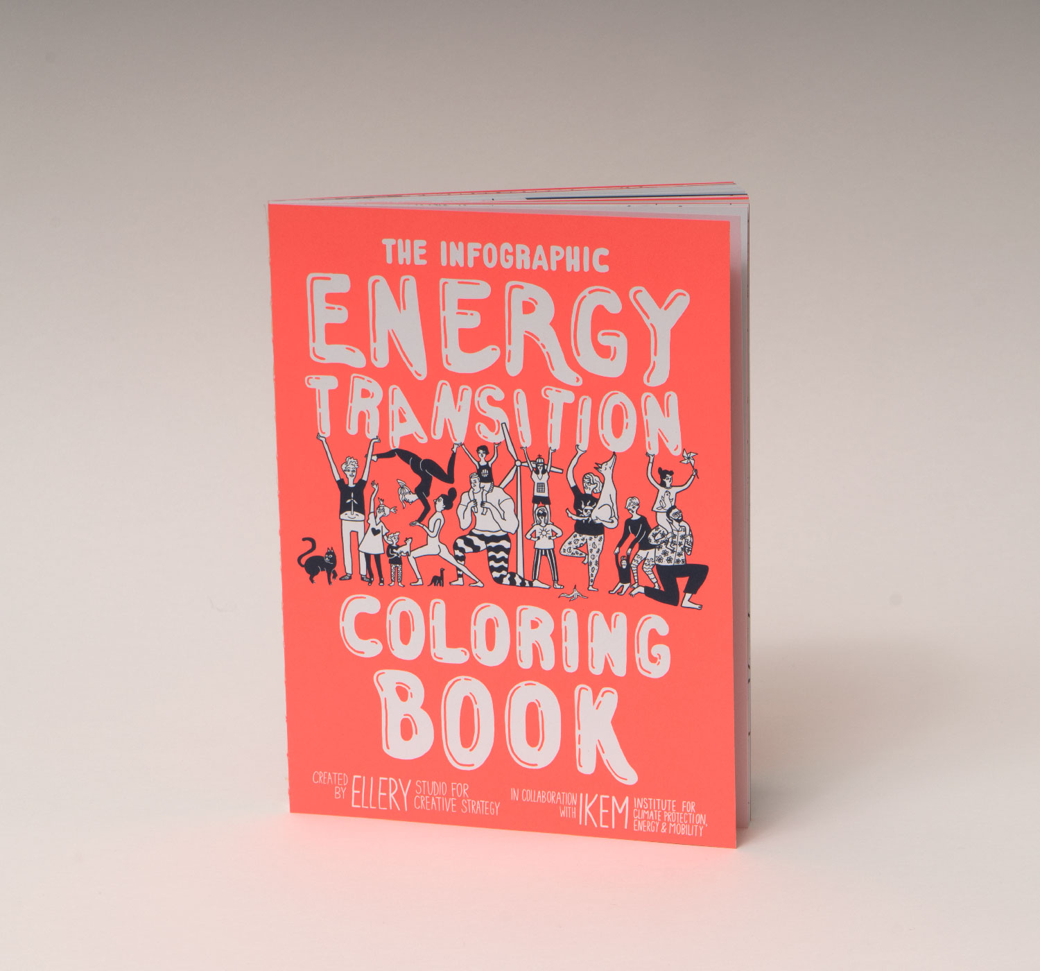 The Infographic Energy Transition Coloring Book