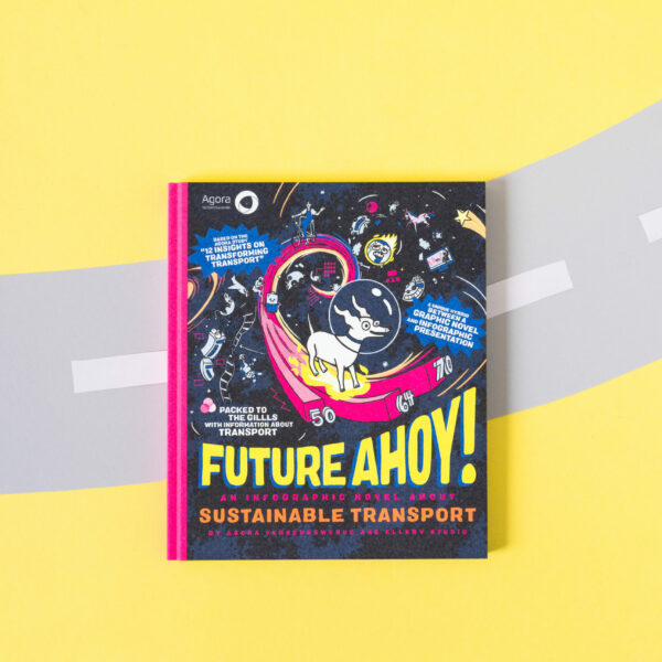 Future Ahoy! An Infographic Novel About Sustainable Transport (English)